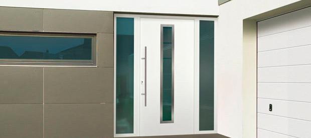 puertas de entrada de aluminio