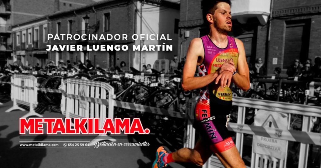 Metalkilama patrocinador de Javier Luengo